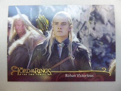 TOPPS Lord of the Rings: The Two Towers - Card #77 ROHAN VICTORIOUS