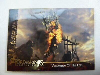 TOPPS Lord of the Rings: The Two Towers - Card #146 VENGEANCE OF THE ENTS