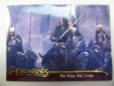 TOPPS Lord of the Rings: The Two Towers - Card #63 THE HOUR HAS COME