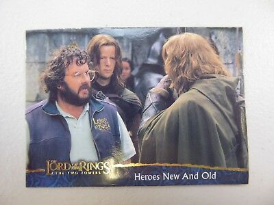 TOPPS Lord of the Rings: The Two Towers - Card #81 HEROES NEW AND OLD