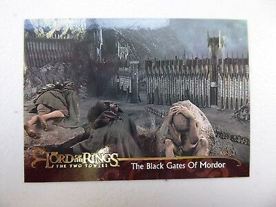 TOPPS Lord of the Rings: The Two Towers - Card #112 THE BLACK GATES OF MORDOR
