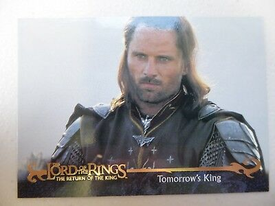 TOPPS Card : LOTR The Return Of The King  #162 TOMORROW'S KING