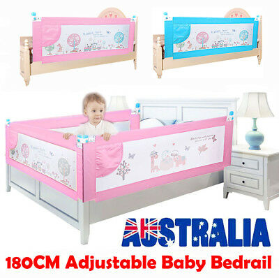 Baby Safety Bedrail 1.8M Swing Down Bed Rail Child Toddler Cot Guard Protection