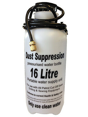 Dust Suppression Water Bottle 16L for use with STIHL TS400 TS410 TS420 saws