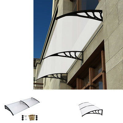 Outdoor Rain Cover Shade Patio Canopy Awning Shelter Roof Front/ Back Porch UK