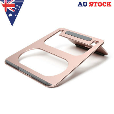 Laptop Stand for 15.6inch Mac Book Pro & Air Adjustable Cooling Pad Desk Holder