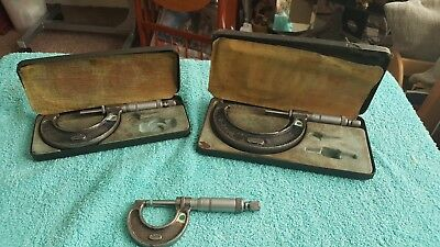 Selection Of Three Moore And Wright Micrometers