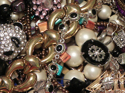Estate Sale Lot of Vintage to Modern Jewelry, Untested, #687 Some Signed