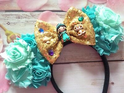 Aladdin- Princess Jasmine Minnie Mouse Ears Headband- Disney World-Disneyland