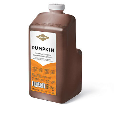 Starbucks Fontana Pumpkin Sauce PSL Pumpkin Spice Latte - 63 oz bottle w/ pump