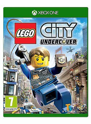 Lego City Undercover Xbox One 7+ Kids Game Brand New & Sealed Microsoft 1 X S