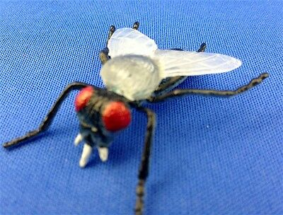 Lot of 20 Rubber Flies iNsEcT FAKE BUGS educational science FLY horsefly creepy!