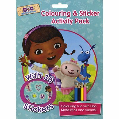 Disney Doc McStuffins Colouring and Sticker Activity Pack: Over 30 Stickers; Col