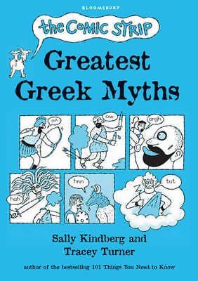 The Comic Strip Greatest Greek Myths, Tracey Turner, New