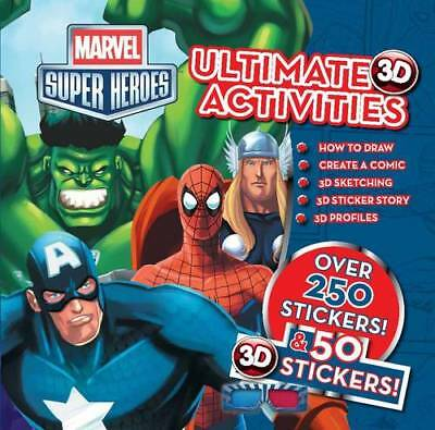 Marvel Super Heroes 3d Ultimate Hero Activities, Marvel, Excellent