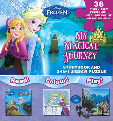 Disney Frozen My Magical Journey: Storybook and , NA, New
