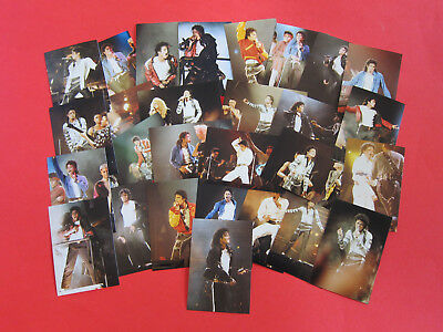 Michael Jackson set of 28 photos from Bad tour - bought 1988