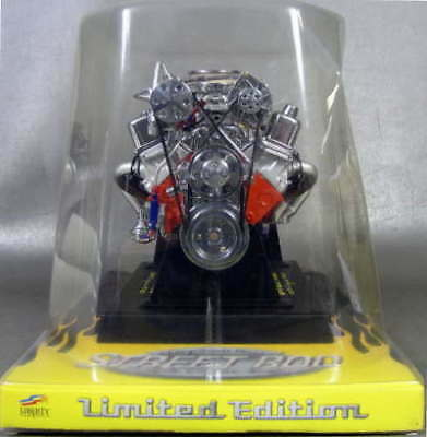 Liberty Classics Chevy Street Rod Engine Replica, 1/6Th Scale Die Cast #84026