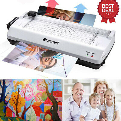4in1 Laminator Set Laminating Machine Rotary Paper Trimmer Cutter Corner Rounder