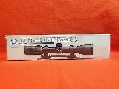 VORTEX Diamondback Riflescope 4-12x40 Dead-Hold BDC (MOA) Reticle #DBK-04-BDC