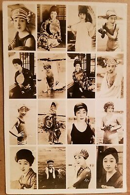 1924 JAPAN Fashion Model Photos Pretty Young Geisha Girl Original Vintage Photo
