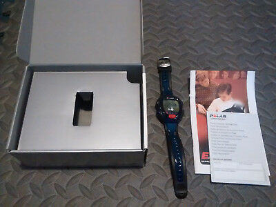 Polar E200 Heart Rate Monitor HRM Fitness Gym Watch