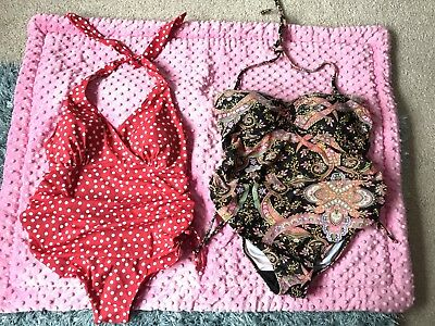 2 X Maternity Swimming Costumes Size 12