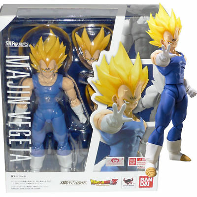 Bandai Tamashii Dragon Ball Z SH S.H. Figuarts Majin Vegeta Action Figure USA