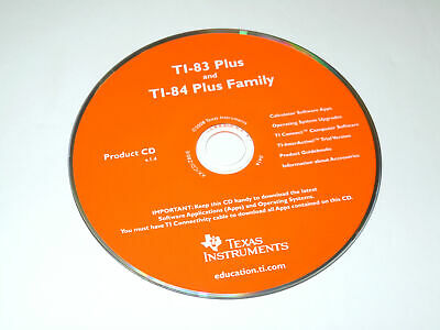 Texas Instruments TI-83 Plus and TI-84 Plus Family Product CD V1.4