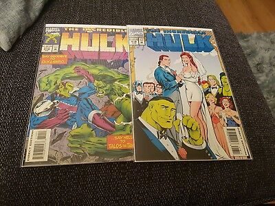 Incredible hulk 418-419 uber hot 1st talos new captain marvel movie