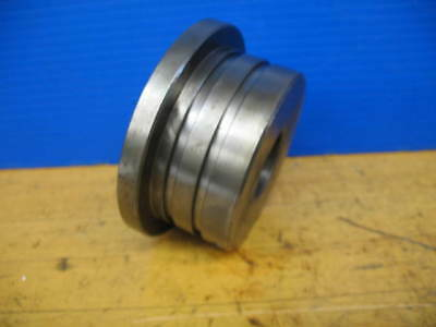 ATS CNC COLLET NOSE CHUCK COLLET PULL ADAPTER A6-5C X 60mm X 2.0mm X .750""