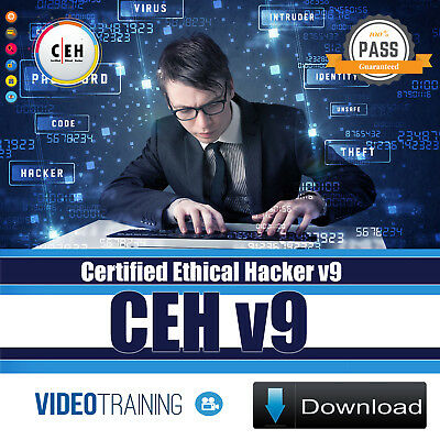 Certified Ethical Hacker v9 CEHv9 Video Training Course Instant DOWNLOAD