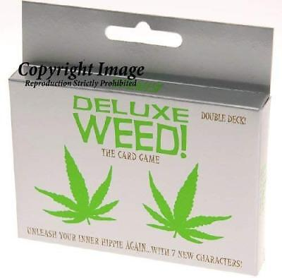 Deluxe Weed Card Game _ Double deck in New Packaging. by Kheper Games