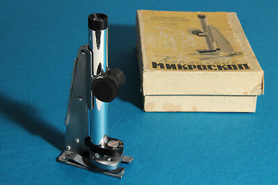 Pocket road Soviet microscope MDK-2 USSR.