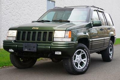 1997 Jeep Grand Cherokee Orvis Limited 4x4 DRIVES GREAT SUPER CLEAN 1 of 90 produced 1997 Jeep Grand Cherokee Orvis Limited 4x4
