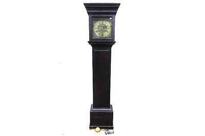 """ROBERT CROOME of WOOTTON under EDGE.  LOVELY 11"""" BRASS DIAL LONGCASE"""