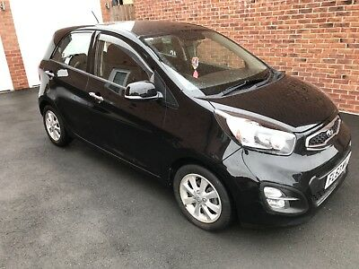 Kia Picanto 2 Black 11247 miles 1 owner fdsh ideal first car ex con  bargain car
