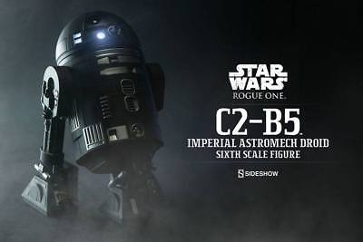 Sideshow Star Wars C2-B5 Imperial Astromech Droid / Sixth Scale