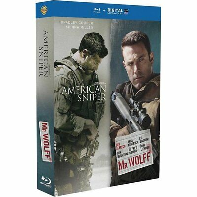 Blu-ray American Sniper + Mr. Wolff [Blu-ray]