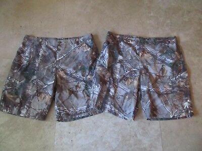 Lot, 2 mens size L,large Realtree camouflage shorts