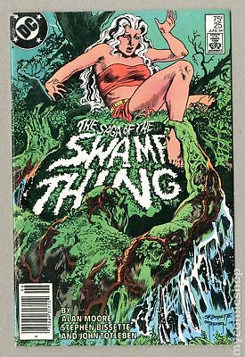 Swamp Thing (2nd Series) Mark Jewelers #25MJ 1984 VG 4.0