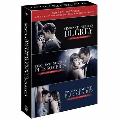 DVD - Coffret DVD Cinquante Nuances - Dakota Johnson, Jamie Dornan, Eric Johnson