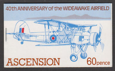 Ascension - 1982 Wideawake Airfield Booklet. SG#SB4. Mint