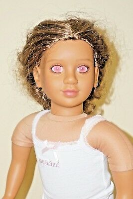 "My Twinn Doll 23"" Long Hair 2011 Dark Brown Hair Medium Skin"
