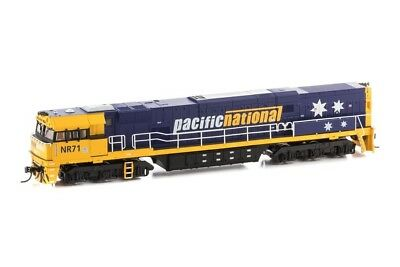 SDS models Austrains NEO NR71 Pacific National w/stars Non powered loco