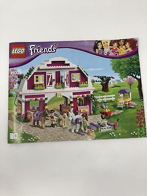 Lego Friends Instruction Manual Only Lot 3939 41308 41309 299