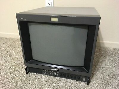 """Sony PVM-14M4U Monitor CRT 14"""" (RGB input) *excellent condition"""" -Pick up in LA"""