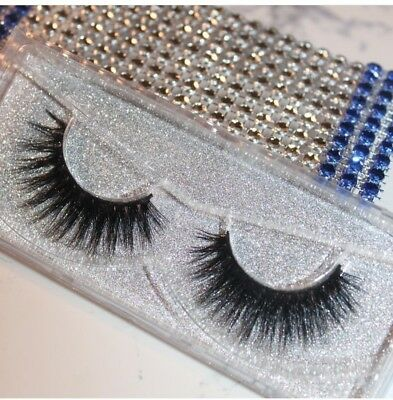 3D Mink Eyelashes Strip Lashes - Riveting lashes US Seller - Fast Shipping