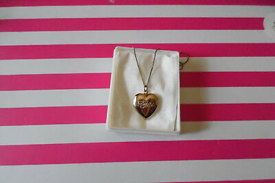 My Child Doll Vintage Heart Locket H.T.F. Mail Away. Mattel. Comes with chain.