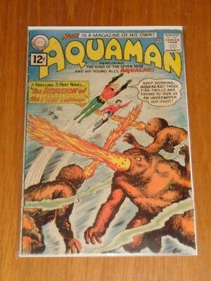 Aquaman #1 G (2.0) Dc Comics February 1962< **